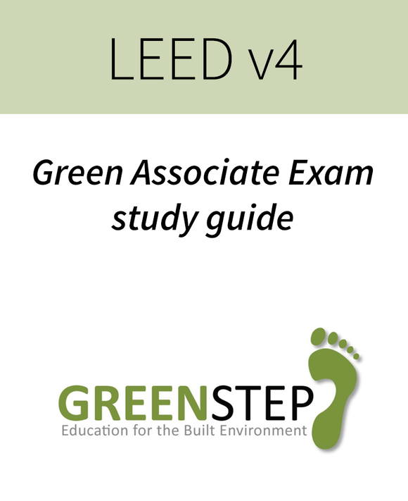 LEED Green Associate study guide
