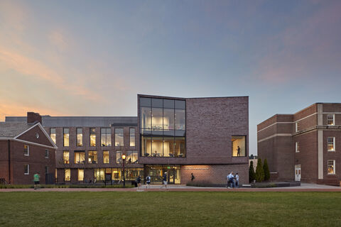 Rockwell Integrated Sciences Center exterior