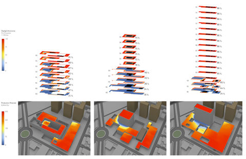massing model analysis using computational design scripting
