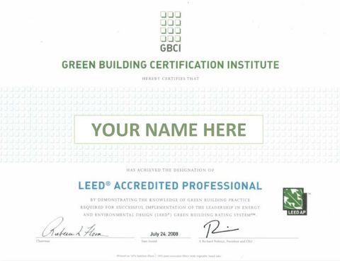 CI-2009 IDc2: LEED Accredited Professional | LEEDuser