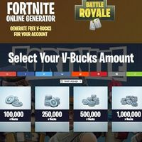 free v bucks hack generator no human verification